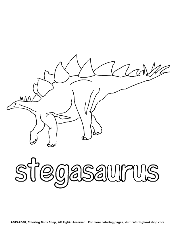 Stegosaurus Coloring Page Get Pages Sketch Coloring Page Stegosaurus Coloring Page